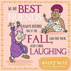 How can we respectfully and compassionately help women approaching or over 50 who are struggling with life transitions? Cartoon Jokes, Funny Jokes, Cartoons, Funny Sayings, Happy Birthday Auntie, Auntie Quotes, Aunt Acid, We Are Best Friends, Life Transitions