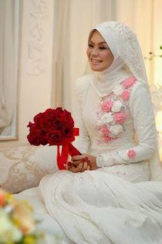 Model Baju Pengantin Muslim 2014 6 Model Baju Pengantin Muslim 2014