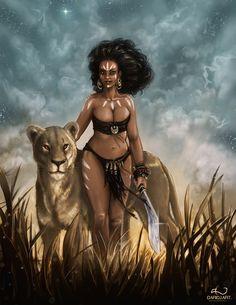 African princess by DarioJart