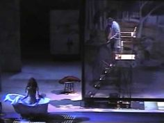 """""""Color And Light Sequence"""" - Raul Esparza and Melissa Errico in SUNDAY I..."""