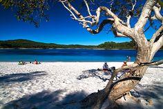 Mackenzie Lake. Fraser Island, Australia