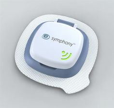 Symphony tCGM (transdermal continuous #glucose monitoring) System from Echo Therapeutics for diabetes. Incorporates a proprietary skin permeation device, a transdermal sensor, a wireless tranceiver and data display technologies. (In development).