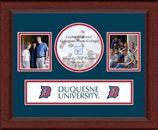 Great photo frame to showcase my school memories! -  Duquesne University Photo Frame #DreamOffice @Church Hill Classics