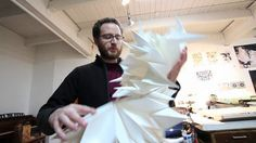 A short video showcasing the work and process of paper engineer and U of M lecturer Matt Shlian.