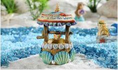 Mini World Under The Sea Seashell Wishing Well