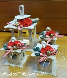 Como hacer faroles decorativos con fieltro o foamy Christmas Lanterns, Christmas Ornament Crafts, Holiday Crafts, Holiday Decor, Fun Crafts For Kids, Crafts To Do, Felt Crafts, Diy Crafts, Big Shot