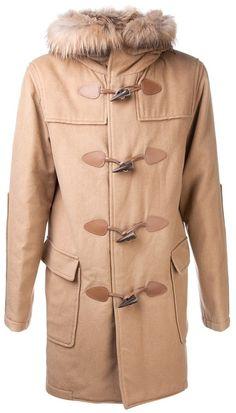 $1,700, Camel Duffle Coat: AR  Ar Duffle Coat. Sold by farfetch.com. Click for more info: http://lookastic.com/men/shop_items/3409/redirect