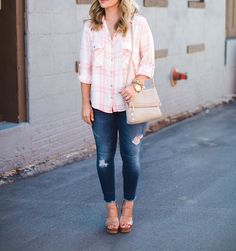 Button-Up Tops for Spring