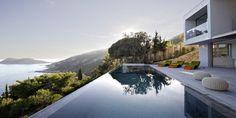 Impresionante villa mediterránea con paredes de cristal (III)