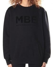 Hi! You can use BMDBLOG to get 20% off on Matte Black Everythin on matteblackeverythin.com All Black Everything, Matte Black, Jumper, Crew Neck, Sweatshirts, Casual, Saving Money, Workout, Clothes