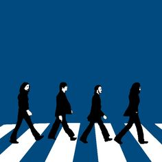 The Beatles, Abbey Road: Graphic