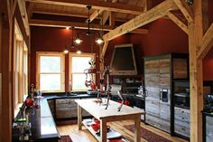 Ponderosa Country Barn Home Gallery SGE609 | Sand Creek Post & Beam