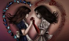 Alice The Madness Returns.i love you Alice, i love you too Alice Alice Liddell, Alice Madness Returns, Dark Side, Good Tattoo Quotes, Chesire Cat, Photoshop Me, Gaming Tattoo, Were All Mad Here, Arte Horror