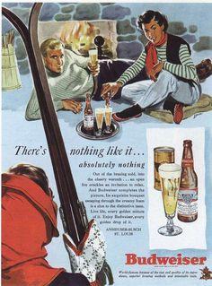 https://flic.kr/p/8yDMJe | Ad for Budweiser 1949