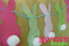 Get Crafty And Creative With These Exquisite Easter Decorations! Spring Crafts, Holiday Crafts, Holiday Fun, Holiday Decor, Easy Easter Crafts, Bunny Crafts, Diy Osterschmuck, Bunny Templates, Cute Diy Projects