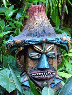Turquoise Tiki: at the Tiki Room