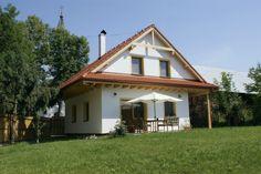 Domček v malebnom prostredí Rakúska. Jedná sa o realizáciu na kľúč FD 210 Home Fashion, Cabin, House Styles, Home Decor, Decoration Home, Room Decor, Cabins, Cottage, Home Interior Design