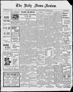 MONTGOMERY COUNTY, Indiana - Crawfordsville - 1900-1903 -The Daily News-Review - Google News Archive Search