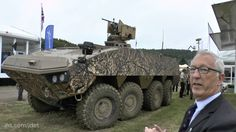 DVD 2016: Christopher F Foss talks about the Patria AMV XP