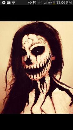 Halloween Scary Make Up Ideas #Entertainment #Trusper #Tip