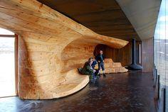 Norwegian Wild Reindeer Centre Pavilion - Picture gallery