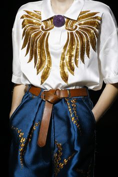 Dries Van Noten Spring 2016 Ready-to-Wear Accessories Photos - Vogue