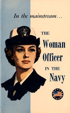 Print of old US Navy Poster  Recruiting Women by BloominLuvly, $9.95
