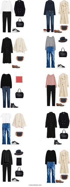 What to Pack for Oxford, UK Packing Light List Outfit Options 11-20 | What to pack for the United Kingdom | What to Pack for Oxford | Packing Light | Packing List | Travel Light | Travel Wardrobe | Travel Capsule | Capsule |
