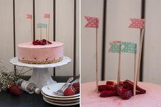 Eistorte mit Erdbeeren & Gin. | Oh, wie wundervoll.