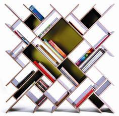 meuble salon idée-originale-rangement-livres-style-rustique