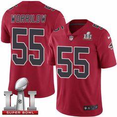 http://www.nflbravojerseys.co/Nike-NFL-Limited/Atlanta-Falcons/Nike-Men-s-Falcons--55-Paul-Worrilow-Red-Super-Bowl-LI-51-Stitched-NFL-Limited-Rush-Jersey-52386/