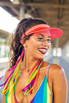 Carnival Outfits, Carnival Makeup, Carnival Costumes, Glitter Carnaval, Make Carnaval, Accesorios Casual, Festival Looks, Couple Halloween, Diy For Girls