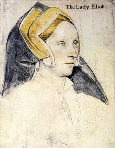 Lady Elyot, 1533 - Hans Holbein the Younger -