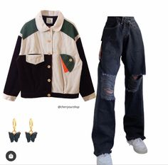 Aesthetic Fashion, Look Fashion, Aesthetic Clothes, Trendy Fashion, Cute Outfits For School, Cute Casual Outfits, Basic Outfits, Matching Outfits, Polyvore Outfits