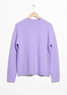 & Other Stories | Knit Sweater in Purple