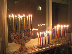 First Chanukah in Israel Photo