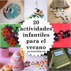 20 actividades infantiles para el verano