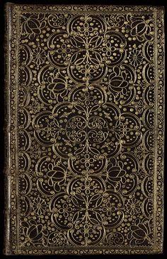 English Restoration binding, 17th century