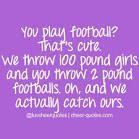 Image uploaded by Cheer Quotes. Find images and videos about football, cheer and cheerleading on We Heart It - the app to get lost in what you love. Cheer Qoutes, Cheerleading Quotes, Gymnastics Quotes, Cheer Sayings, Funny Cheer Quotes, Cheer Funny, Competitive Cheerleading, Cheerleading Company, Gymnastics Funny