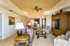 Sandy Ridge Deluxe - Reunion Resort 3 Bed 3 Bath Condo- Living Room