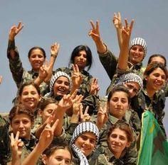 o YPG iniciou batalhas armadas durante a guerra civil síria em 2011, sendo responsável pela libertação de diversas cidades das tropas de Assad.