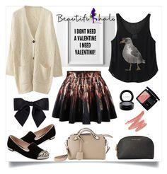 """Untitled #60"" by my-fashion-paradise ❤ liked on Polyvore featuring Fendi, Miu Miu, MICHAEL Michael Kors, Christian Dior, MAC Cosmetics, Chanel and beautifulhalo"