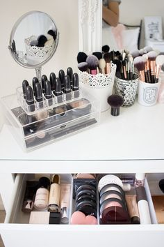 My Dressing Table and Makeup Collection — Like Neon Love
