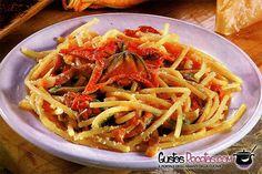Spaghetti con vongole, scorfano e zucchine - http://gustosrecetas.com/spaghetti-con-vongole-scorfano-zucchine/