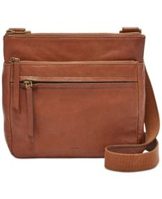 Fossil Corey Small Leather Crossbody Handbags   Accessories - Macy s 1322d9a6d8