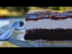 Το γλυκό που τρέλανε το facebook:Πάστα σε γλυκο ταψιου απο τη Σόφη Τσιωπου Greek Desserts, Greek Recipes, Chocolate And Vanilla Cake, Pastry Design, Cake Youtube, Cookie Frosting, Pasta, Trifle, Cupcake Cakes
