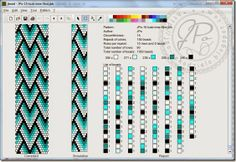 peyote stitch bracelet pattern