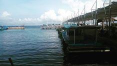 Deja Vu ternate.... . . . . . . #pramukaisland #kepulauanseribu #sea #boat #port #cloud #vitaminsea #visitindonesia