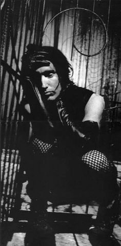 Oh, the fishnet days...<3