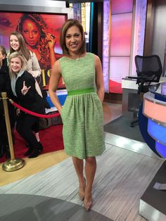 I bought this at Ginger Zee, Amy Robach, Dresses For Work, Summer Dresses, Fun At Work, Fashion Books, Get Dressed, My Girl, Style Me